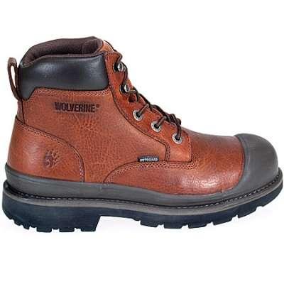 16735725b35 Wolverine 4659 Men's Lawson Internal Met Guard Steel Toe SR Boots