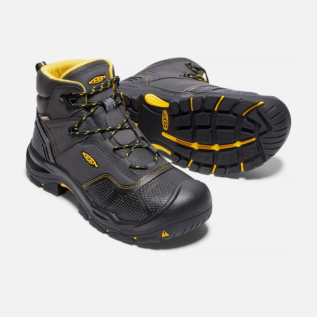 Keen 1017828 Men S Logandale Waterproof Boot Steel Toe